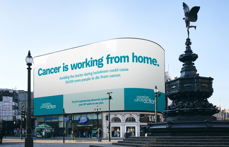 Bite Hot Pick Cancer Doesn T Stop Because We Re All At Home Reminds Ovarian Cancer Action