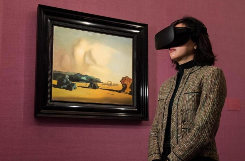 Sotheby's Virtual Reality experience