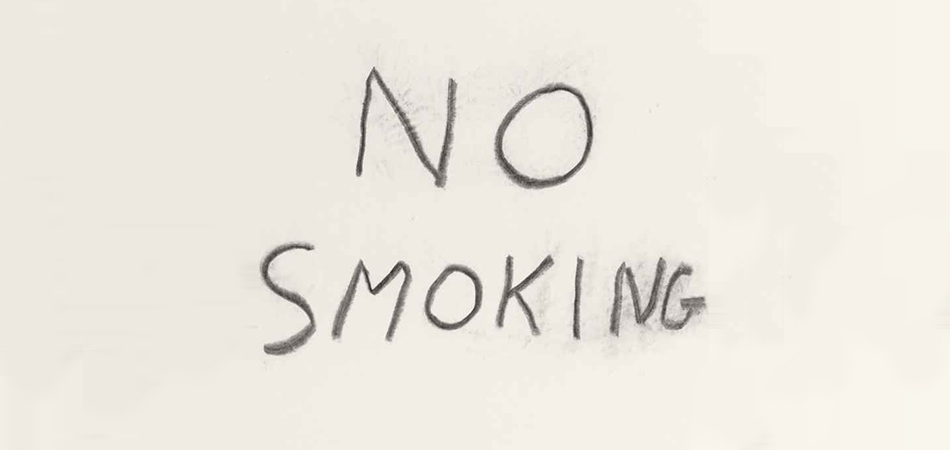 David Shrigley 'No Smoking' for Ash to Art