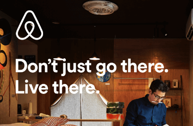 Airbnb Don't go there live there