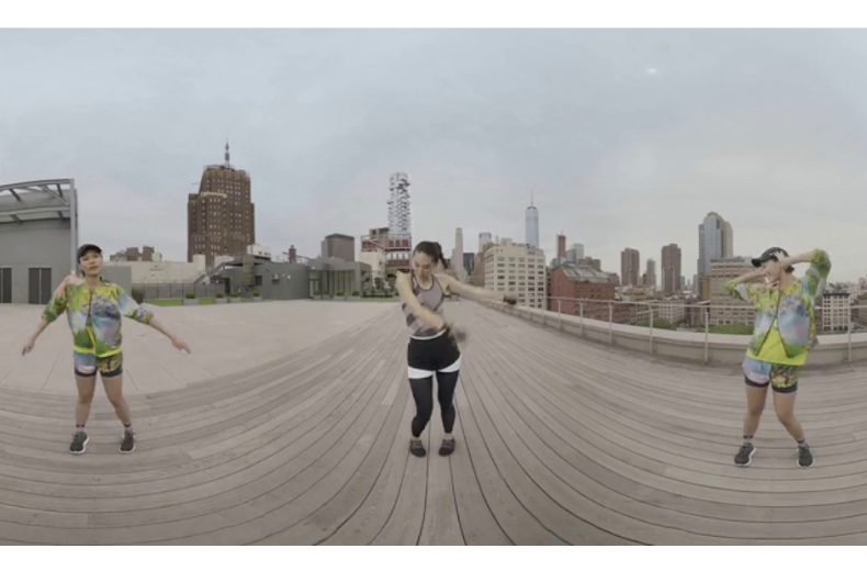 Stella McCartney's Nature x City VR, Clubhouse