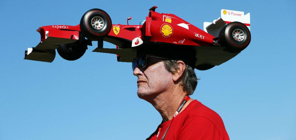 loyal Ferrari superfan