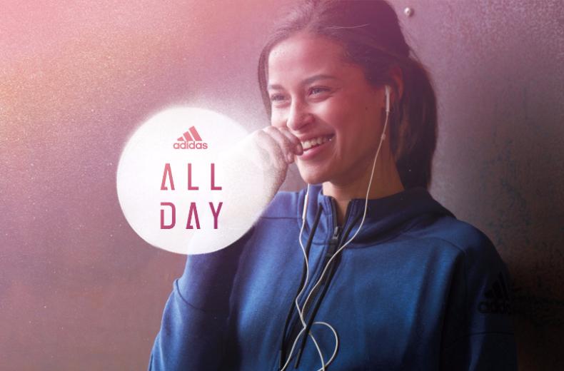 adidas All Day app