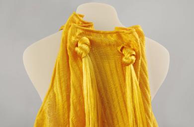 Bolt Threads_GoldMoMA Dress