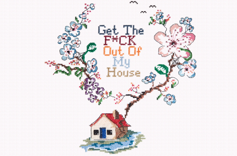 Get the F*ck out of my house - Coley Porter Bell
