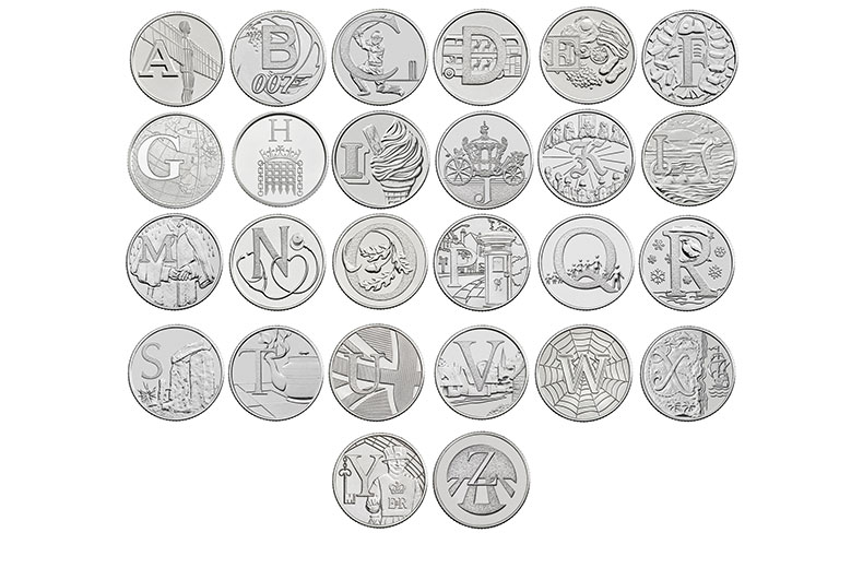 The Royal Mint - Quintessentially British A - Z