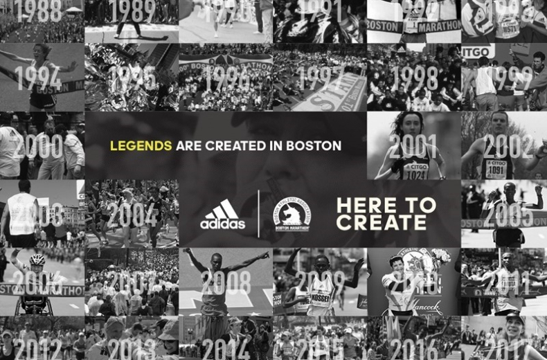 adidas -  Boston Marathon