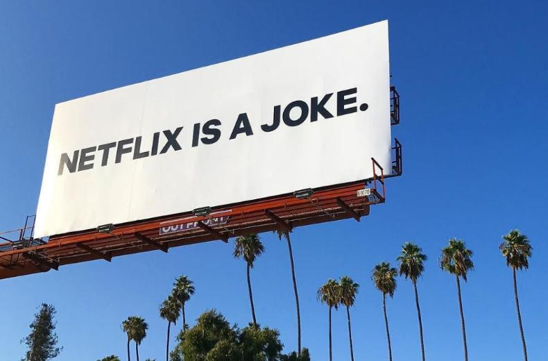 'Netflix is a Joke' by Battery, LA
