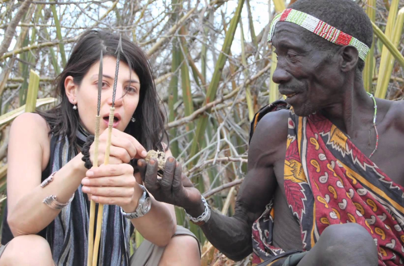 Dawn of Social Networks: Hadza Tribe