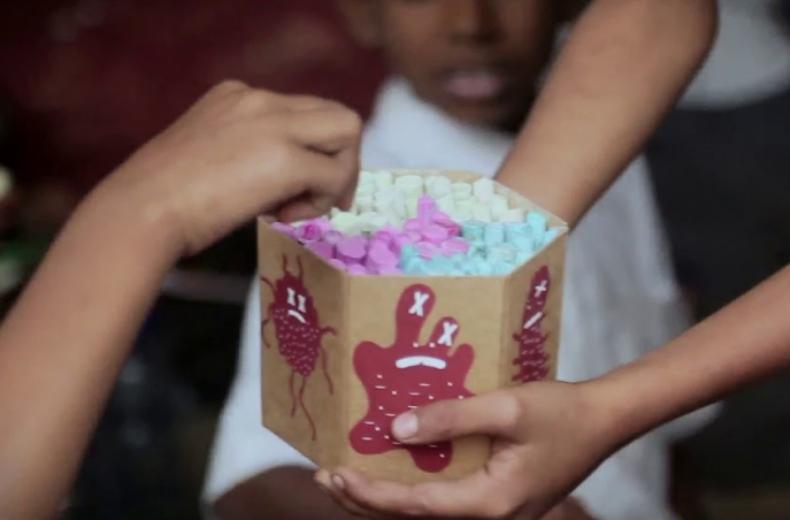 Savlon 'Healthy Hands Chalk Sticks' by Ogilvy Mumbai