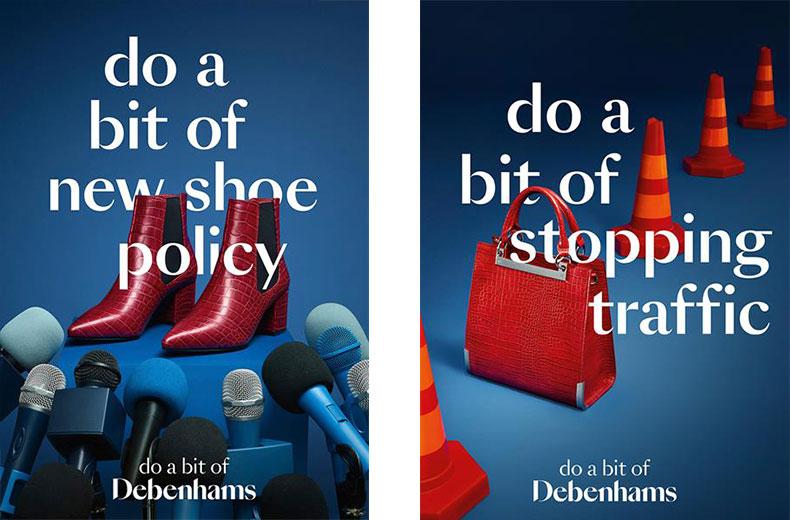 Debenhams, 'Do a bit of Debenhams' by Mother London