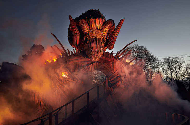 Alton Towers, Wicker Man by The Academy