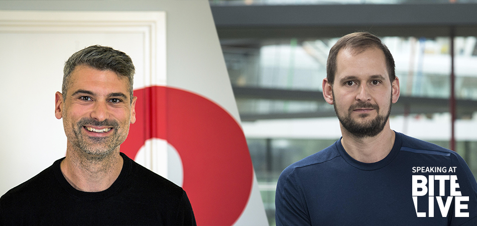 Harvey Cossell, Head of Strategy, We Are Social & Florian Alt, Vice President Global Brand Communications, adidas football