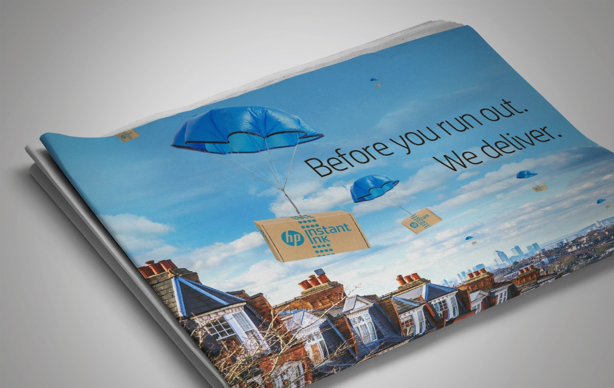 Thinking Ink with HP by Bright Blue Day | Creativebrief