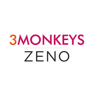 3 Monkeys  | Zeno Logo