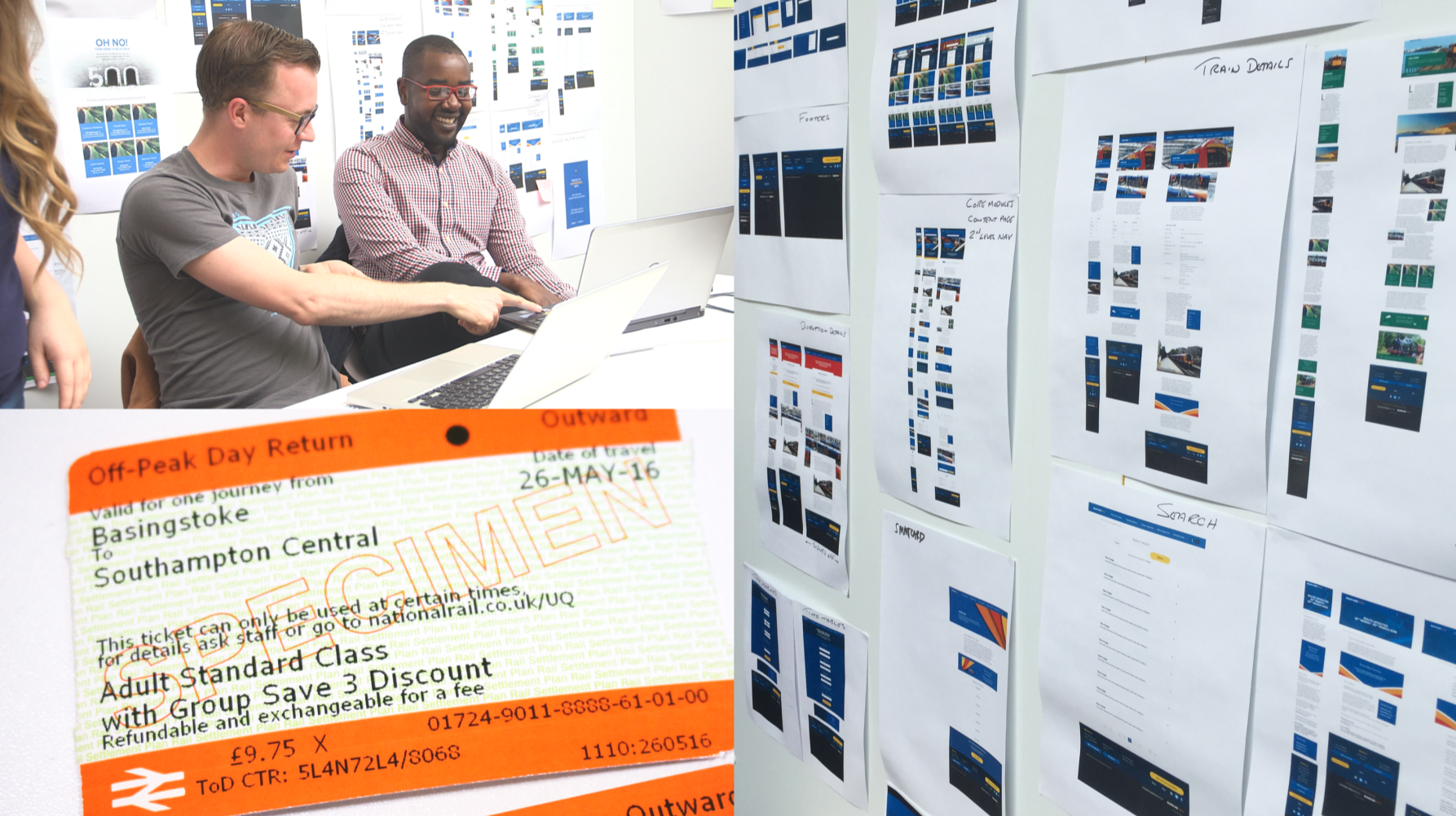 South West Trains by Zone | Creativebrief